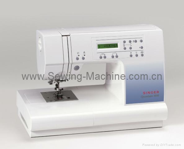 SINGER QUANTUM COMPUTER  DOMESTIC SEWING MACHINE 1