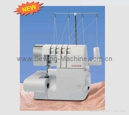 SINGER 14SH DOMESTIC OVERLOCK SEWING MACHINE 1