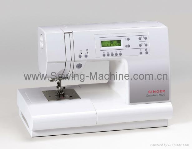 SINGER QUANTUM COMPUTER  DOMESTIC SEWING MACHINE 2