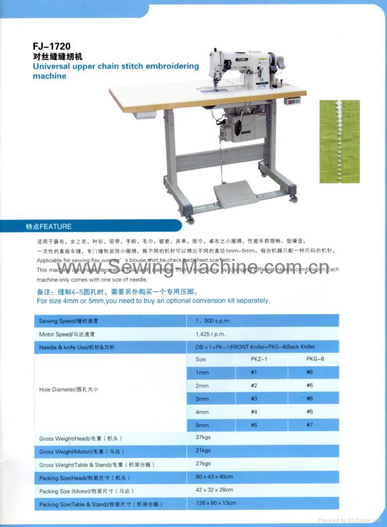 Hemstitching Sewing Machine. 1