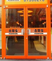 福州店面玻璃推拉門