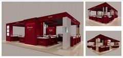 賣場高端珠寶展櫃設計