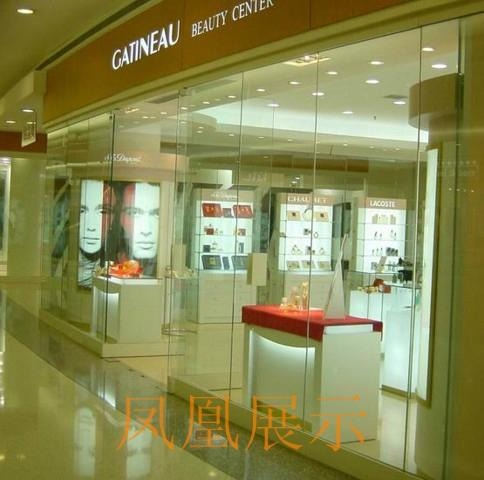 深圳化妝品展示櫃訂做 3