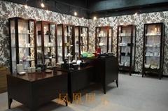 陶瓷艺术馆展柜木质博物馆展柜