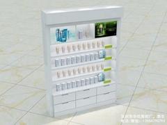 烤漆化妆品展柜定制