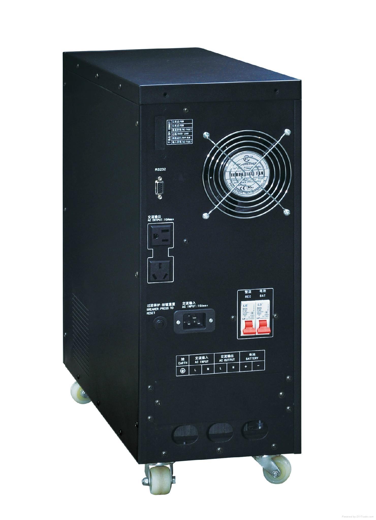 工頻UPS單入單出電源 2KVA 2