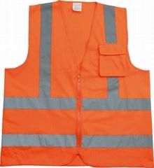 EN471 hivisibility safety vest