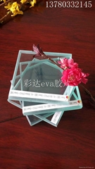 ultra clear eva film or laminate glass film with uv blocked