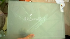 indoor and outdoor 0.38mm frosted eva film for lamination glass