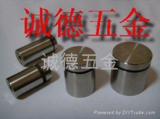 实心不锈钢广告订,优质咨询台装饰螺丝钉 3