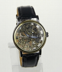 Mechanical skeleton watch SNT-M3765
