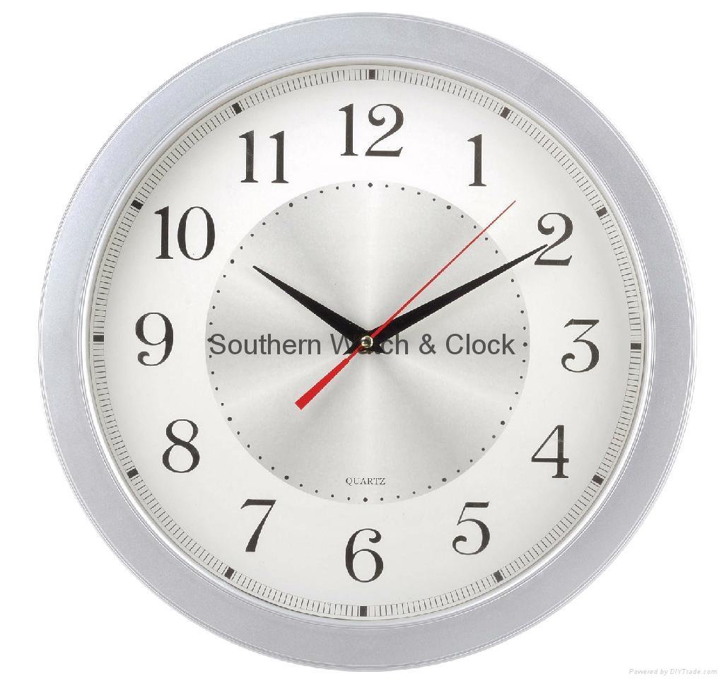 plastic art wall clock  SNT-CL042 1