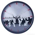 plastic art wall clock  SNT-CL042 2