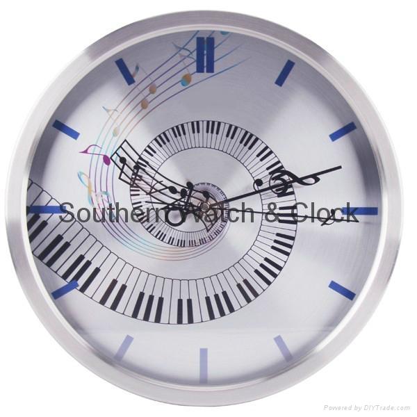 plastic art wall clock  SNT-CL042 3