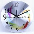 plastic art wall clock  SNT-CL042 5