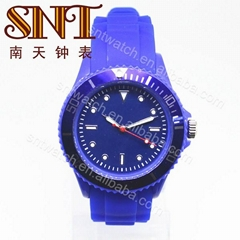 Fashion silicone watch PVC case