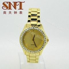 New alloy watch quartz watch with stones for lady (Hot Product - 1*)