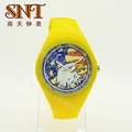 New design silicone watch on promotion