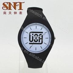 新款硅胶手表