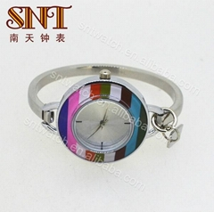 Luxury quartz watch bangle watch on sale