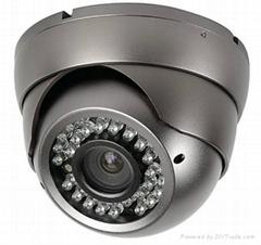 CCTV 4-9mm Varifocal lens Vandaldome Camera