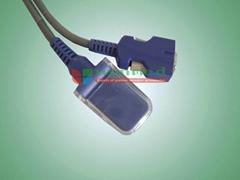 Nellcor DOC10 spo2 Adapter Cable Exi Cable