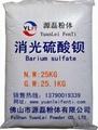 extinction Barium sulfate