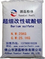 Modified barium sulfate