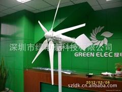 最新款5葉片800w風力發電機 低風速啟動