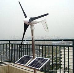 600W Wind Turbine Generator DC/AC 12V/24V Auto Distinguish & CE 3 year warranty