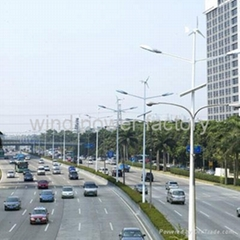 300w wind solar hybrid led street lighting system