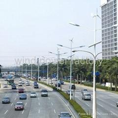 300w wind solar hybrid led street lighting system
