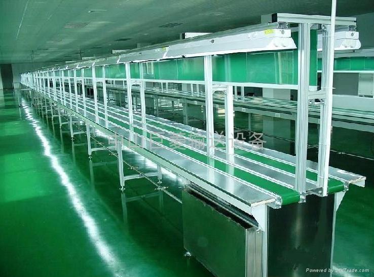 订做双行组装输送流水生产线 2