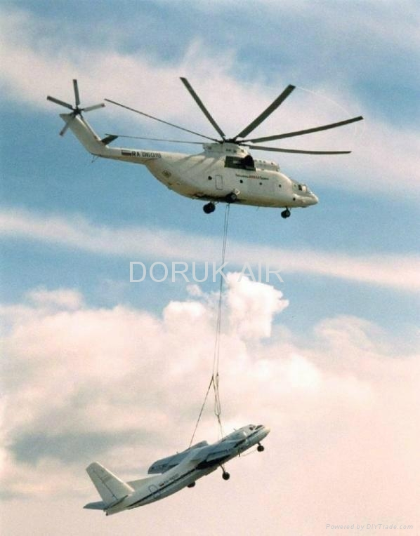 Heavy Load Lifting Helicopter