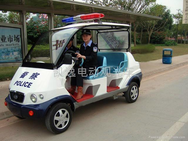 广东低噪音四轮电动巡逻车 1