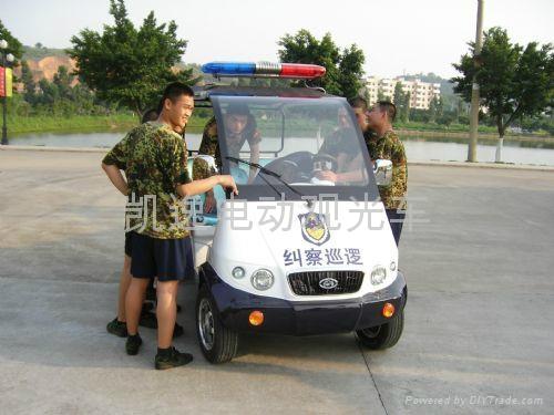 广东低噪音四轮电动巡逻车 2
