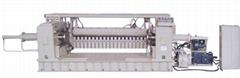 Eccentric lathe cutting machine