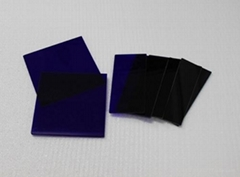 藍色鈷玻璃片