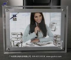 单面广告水晶灯箱