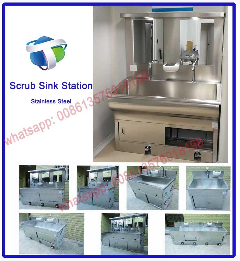 Stainless Steel Scrub Sink Station for Hospital Operating Room 1