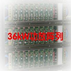 大功率高电压超声波次声波D类开关数字功放,高大上特种功放定制