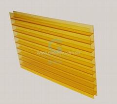 Polycarbonate sheet (Orange color)