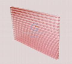 粉紅色 陽光板