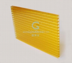 Orange Polycarbonate Frosted sheet