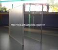 Polycarbonate Abrasive sheet (Clear) 5