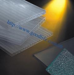 聚碳酸酯板材建築材料