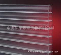 固萊爾三層板(聚碳酸酯板材)