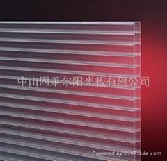 Twin-wall sheet(plastic sheet)