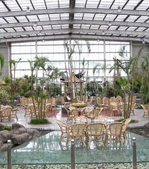 聚碳酸酯板材(陽光板)用於生態餐廳