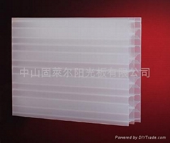 Polycarbonate sheet(X-profile sheet)